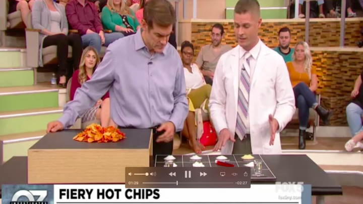 Dr. Oz Show – How Spicy Chips Are Made!