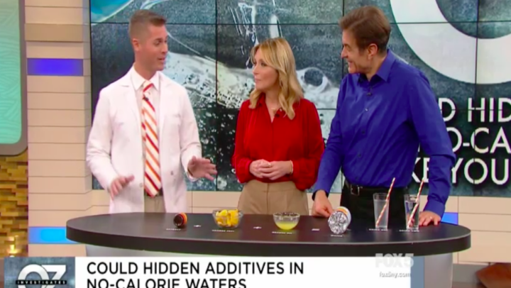Dr. Oz Show – How To Make Flavored Water.